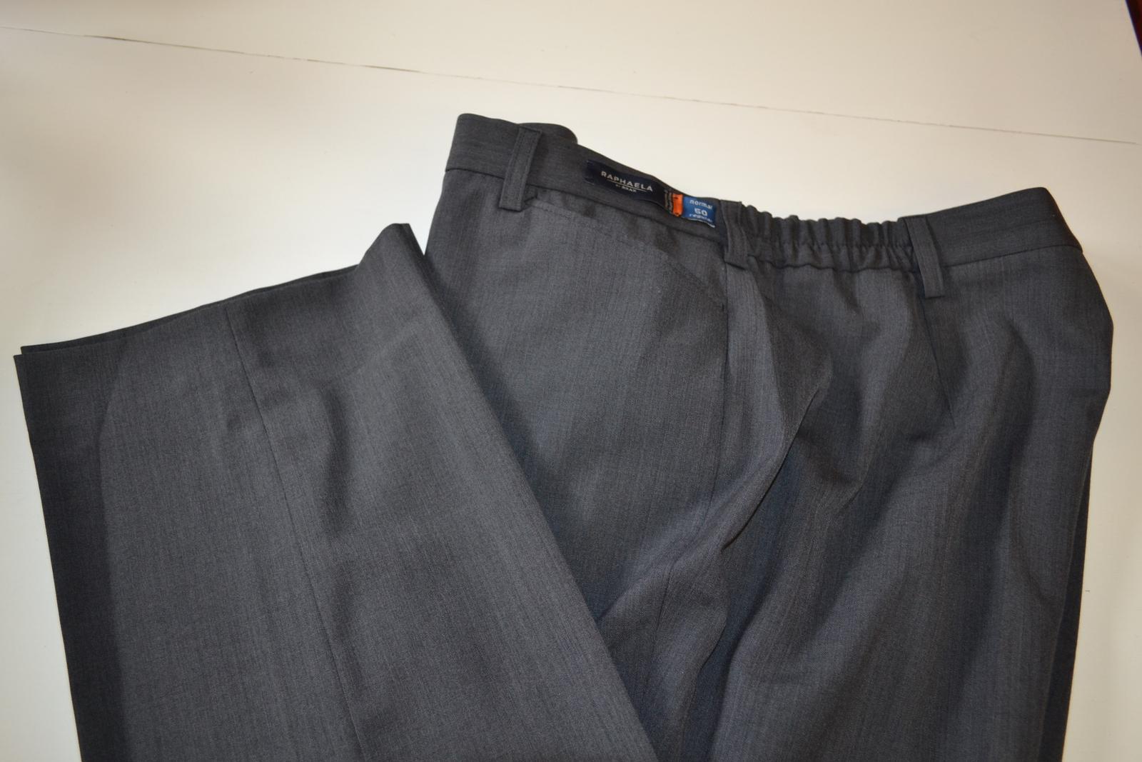 Kalhoty společenské s vlnou - pouze vyzkoušené - Obrázek č. 1