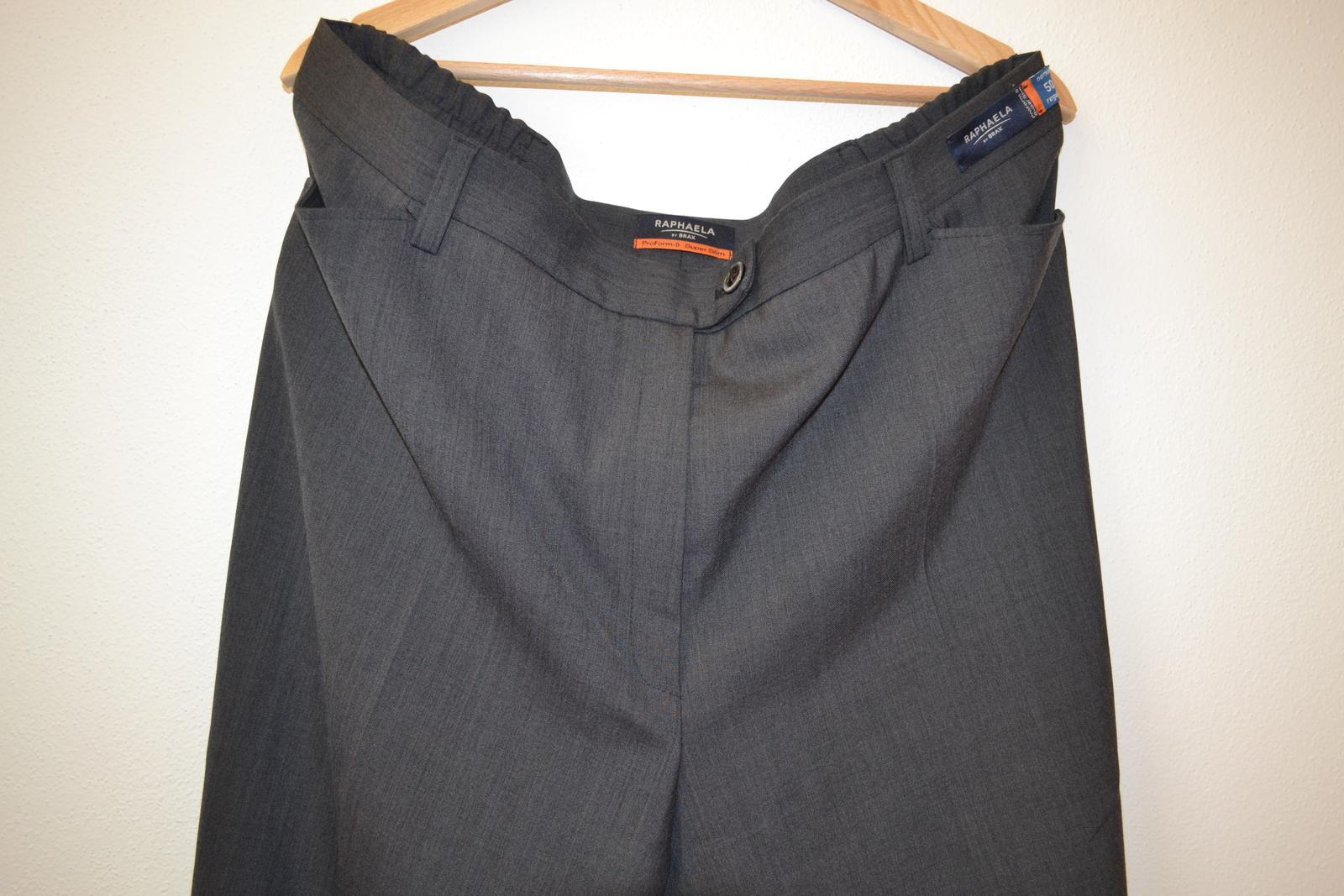 Kalhoty společenské s vlnou - pouze vyzkoušené - Obrázek č. 3