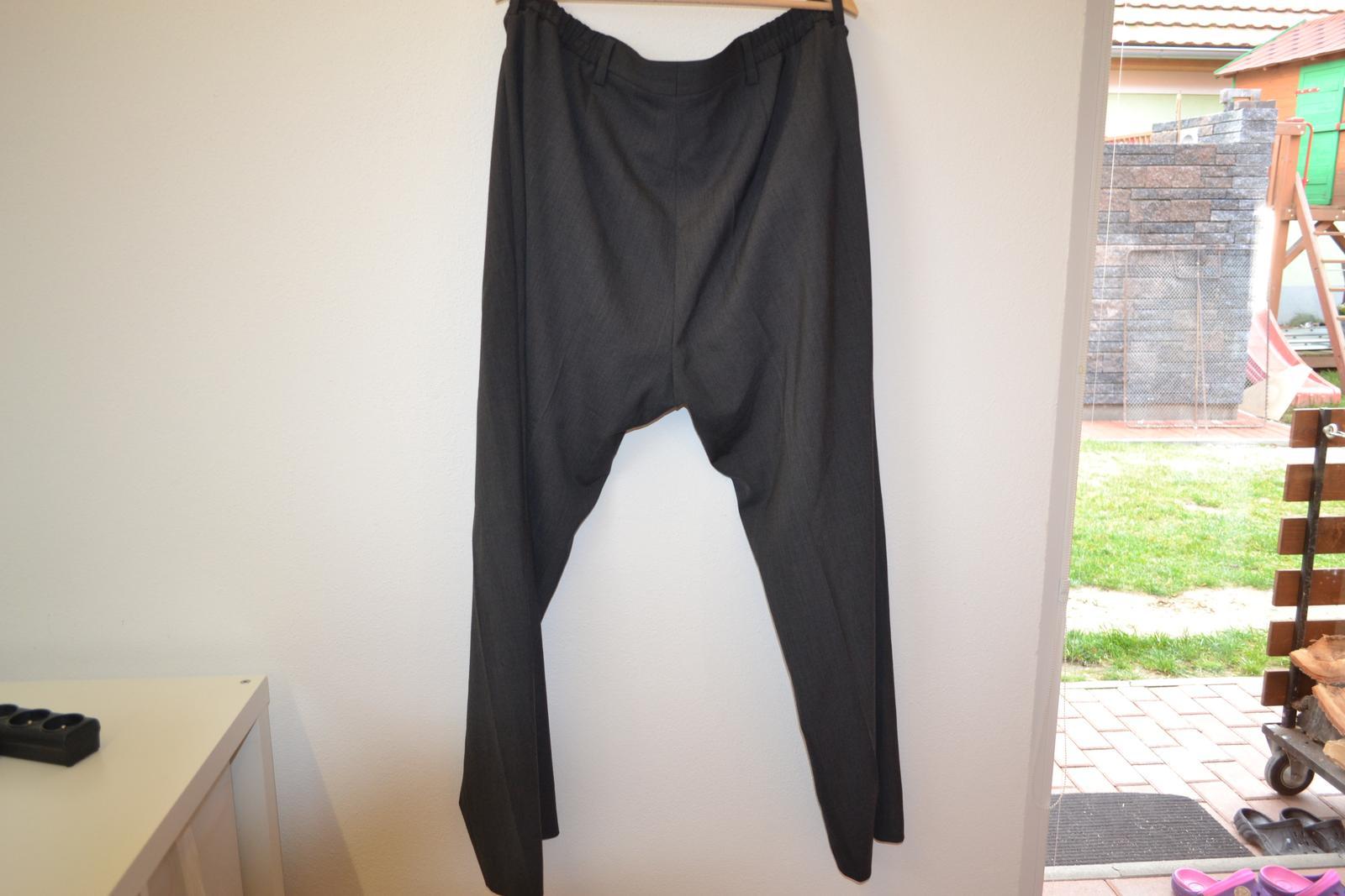 Kalhoty společenské s vlnou - pouze vyzkoušené - Obrázek č. 4