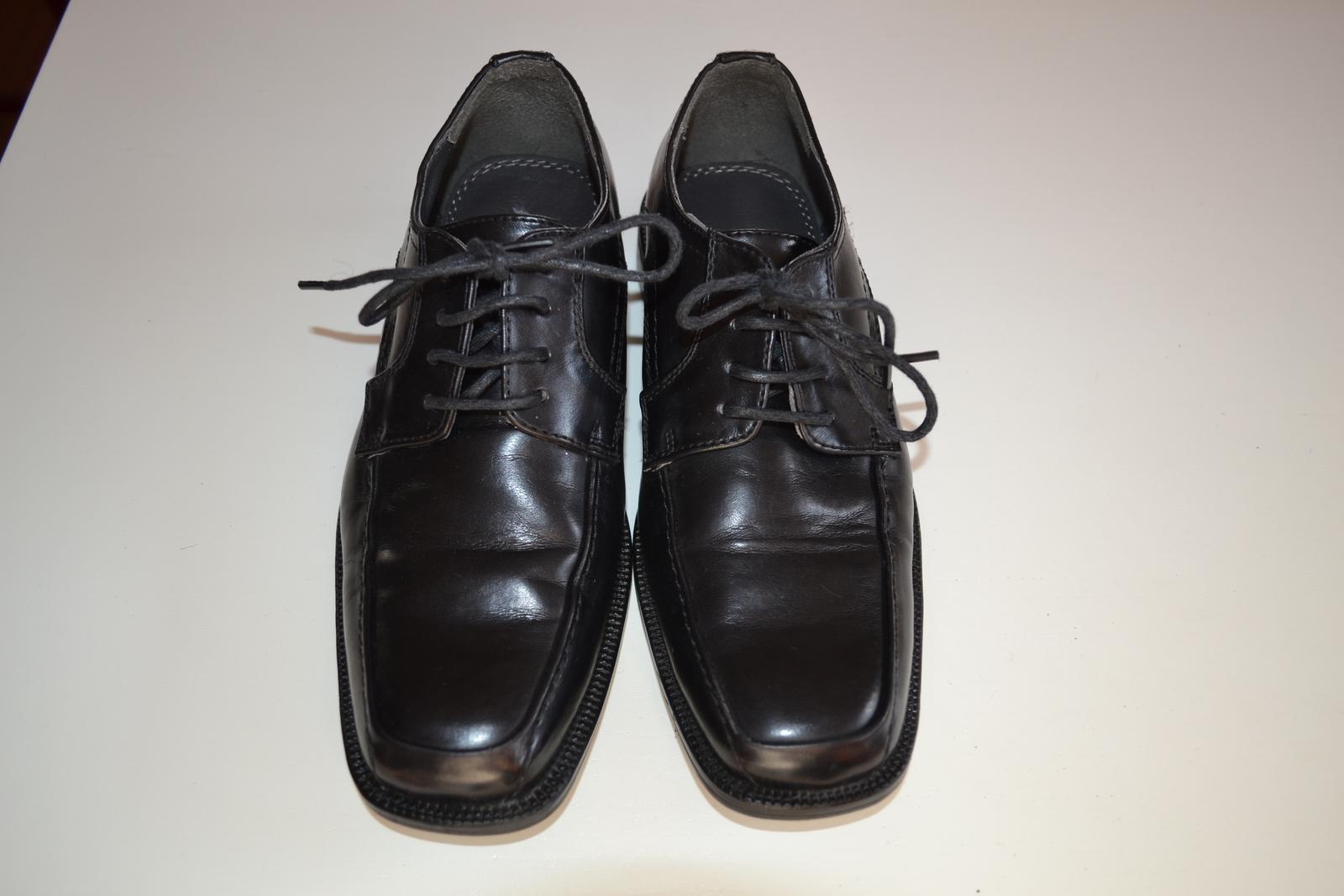 Společenské chlapecké boty - Obrázek č. 1