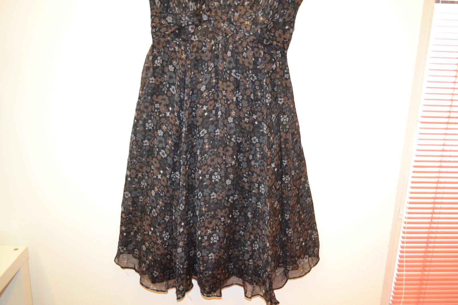 Hedvábné šaty zn. Zara top stav - Obrázek č. 4