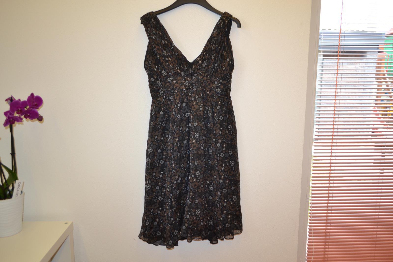 Hedvábné šaty zn. Zara top stav - Obrázek č. 3