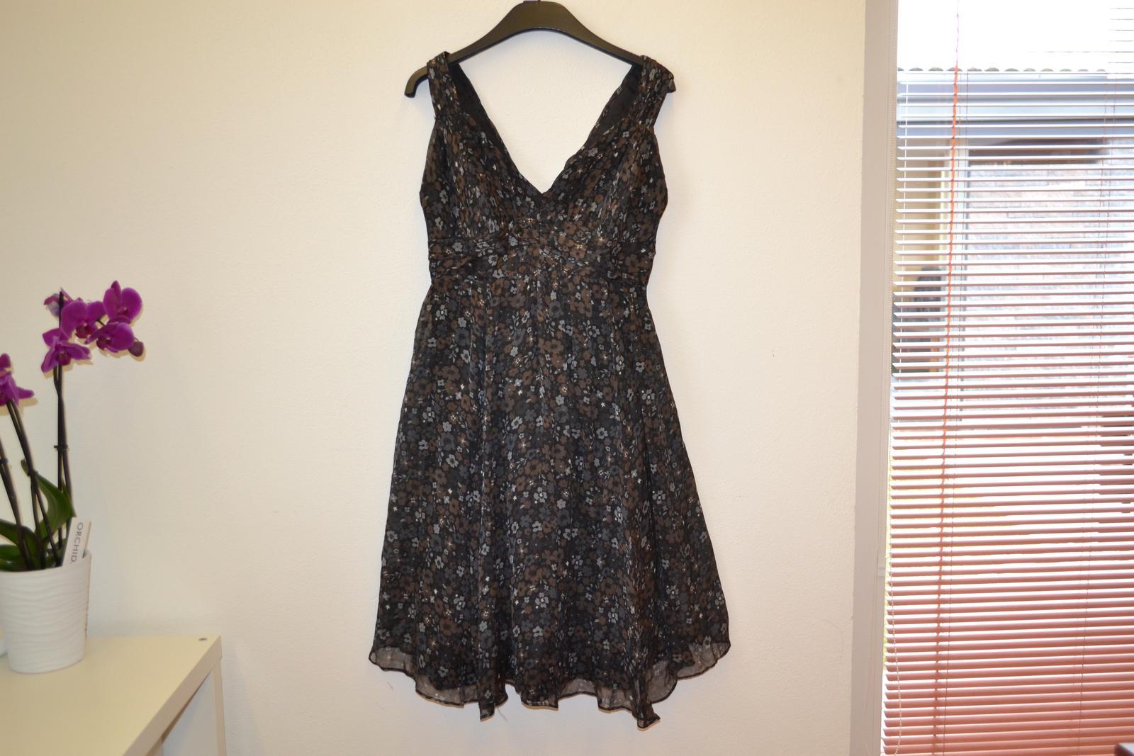 Hedvábné šaty zn. Zara top stav - Obrázek č. 2