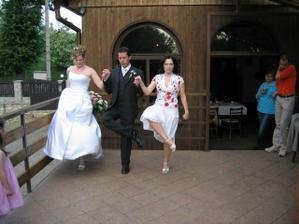 Tančilo se na terase - ukázka irského tance
