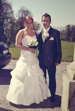 Novomanželé Seidlovi :)