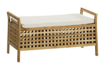 Jysk.sk lavica s poduškou a úložným priestorom malt 74,99 kúpené v akcii za 45,00 - splnené