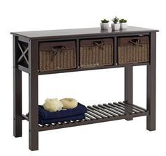 http://jysk.sk/izba-jedalen/odkladacie-stoliky/pultovy-stolik-oure-3-zasuvky-hneda Š100 x V76 x H39 cm 95 €
