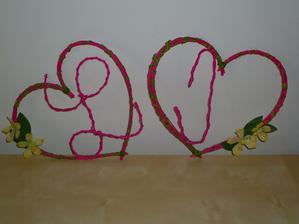 Dnes v 5 ráno doděláno :-) Naše iniciály...