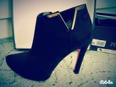 Čierne topánky Zee Lane na vysokom podpätku, 39