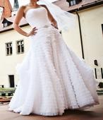 Nádherné svadobné šaty zn. Galina Signature , 36