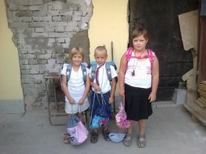 první školní den 1.9.2015