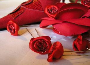 ružičky do vláskov