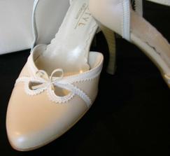 detail topánok