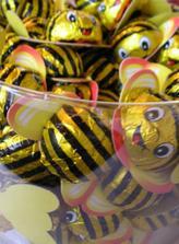 včeličky, ktoré budem rozhadzovať