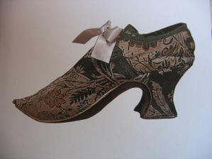 Takhle vypadaly dobové boty...