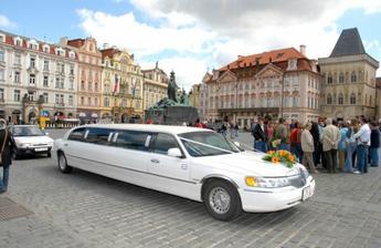 Moje autíčko už na Staroměstském náměstí
