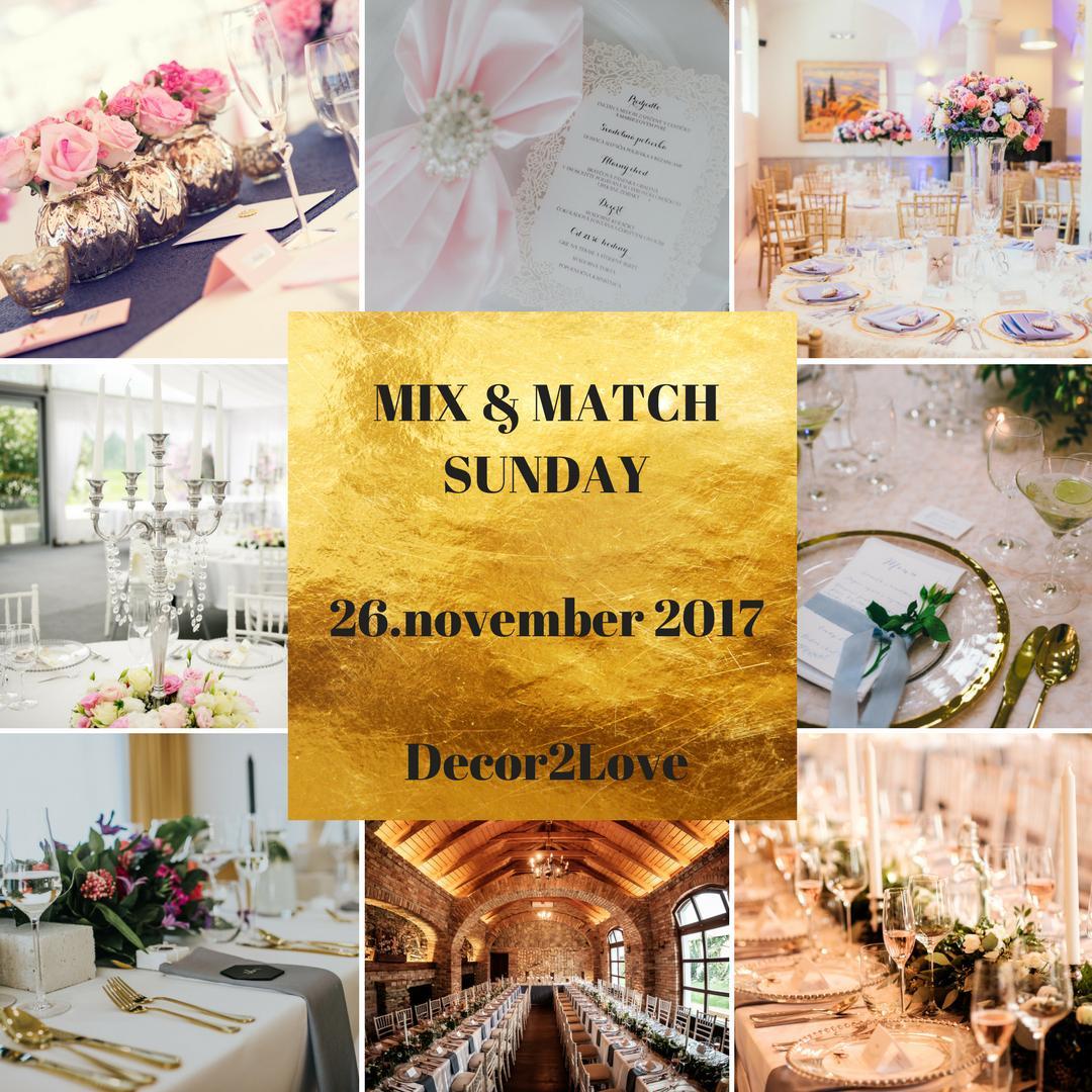 Druhá Mix&Match Sunday 26.11.2017  v Decor2Love, rezervujte si u nás termín online :) - Obrázok č. 2