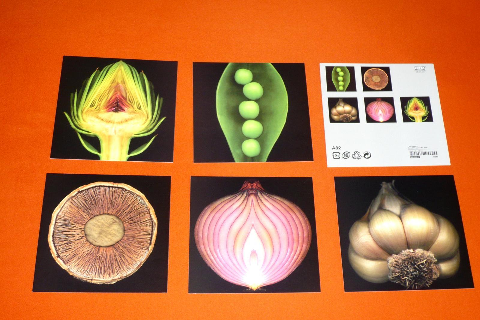 Umelecké pohľadnice IKEA - cena spolu  - Obrázek č. 1