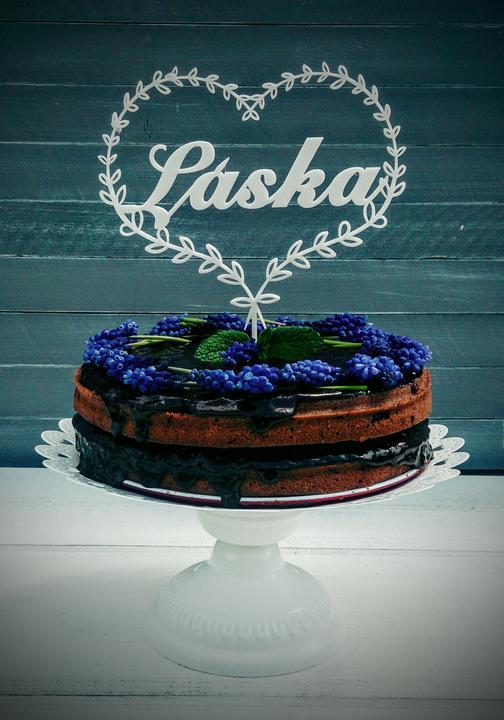 Zápich na dort a nápis na stůl - 10% SLEVA na celý nákup! - Svatební doplňky s.r.o.