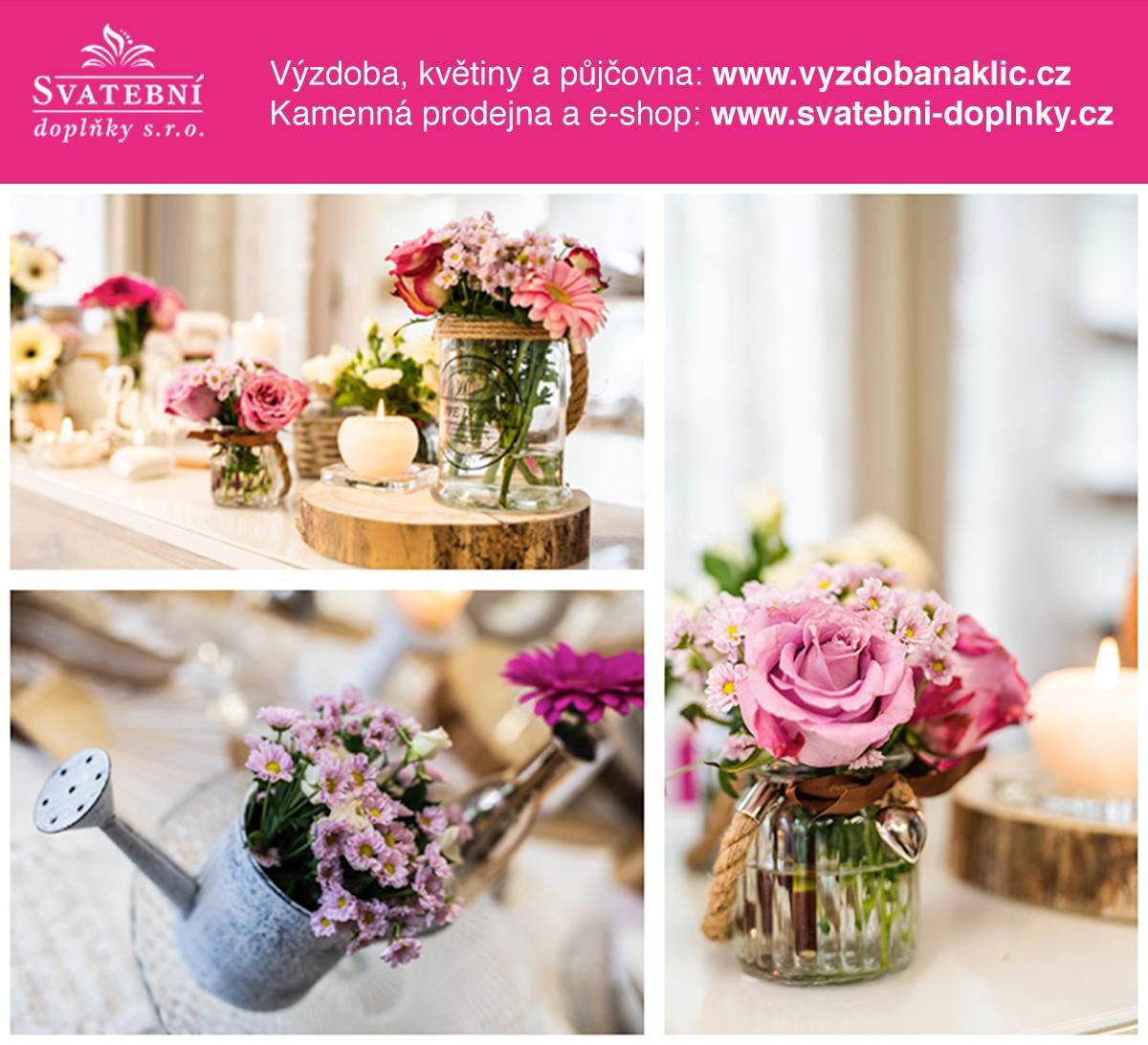 Svatební doplňky s.r.o. - Svatební dekorace