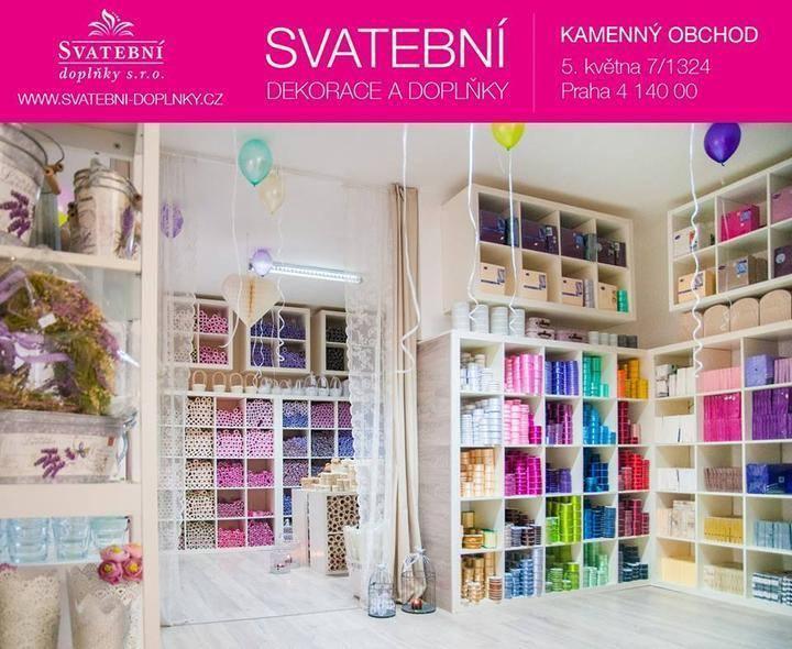 Kamenný obchod Praha 4 - AKCE 15% do 31.10.2019 - Svatební doplňky s.r.o.
