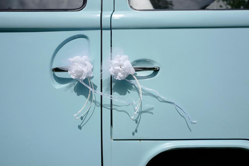 Svatební dekorace na auto - Obrázek č. 25