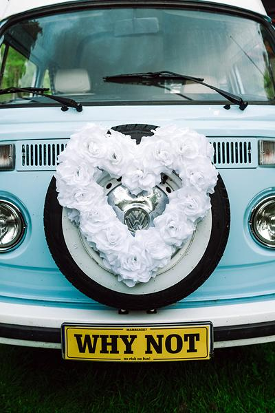 Svatební dekorace na auto - Obrázek č. 23