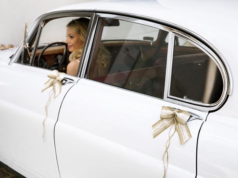 Svatební dekorace na auto - Obrázek č. 7