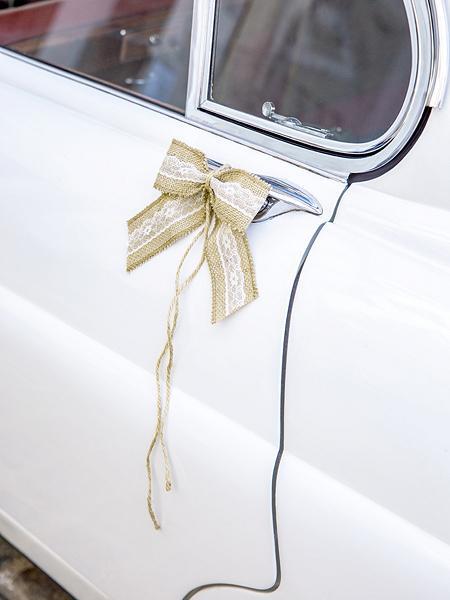 Svatební dekorace na auto - Obrázek č. 8