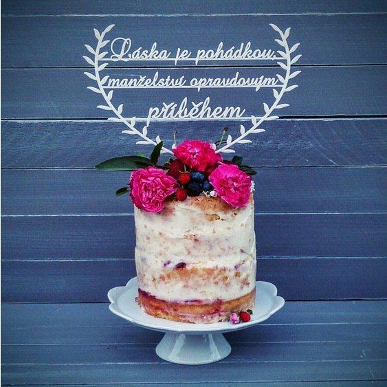 Zápich na dort - Svatební doplňky s.r.o.
