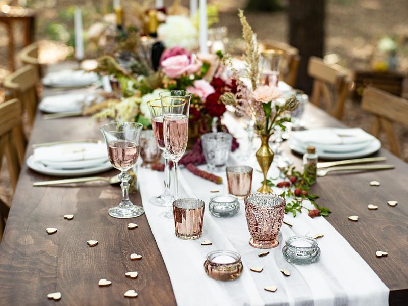 Svícen (vázička) dekorační - Svatební doplňky s.r.o.