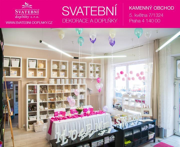 🎈Svatební dekorace 10% sleva na celý nákup!🎈 - Obchod svatební dekorace www.svatebni-doplnky.cz