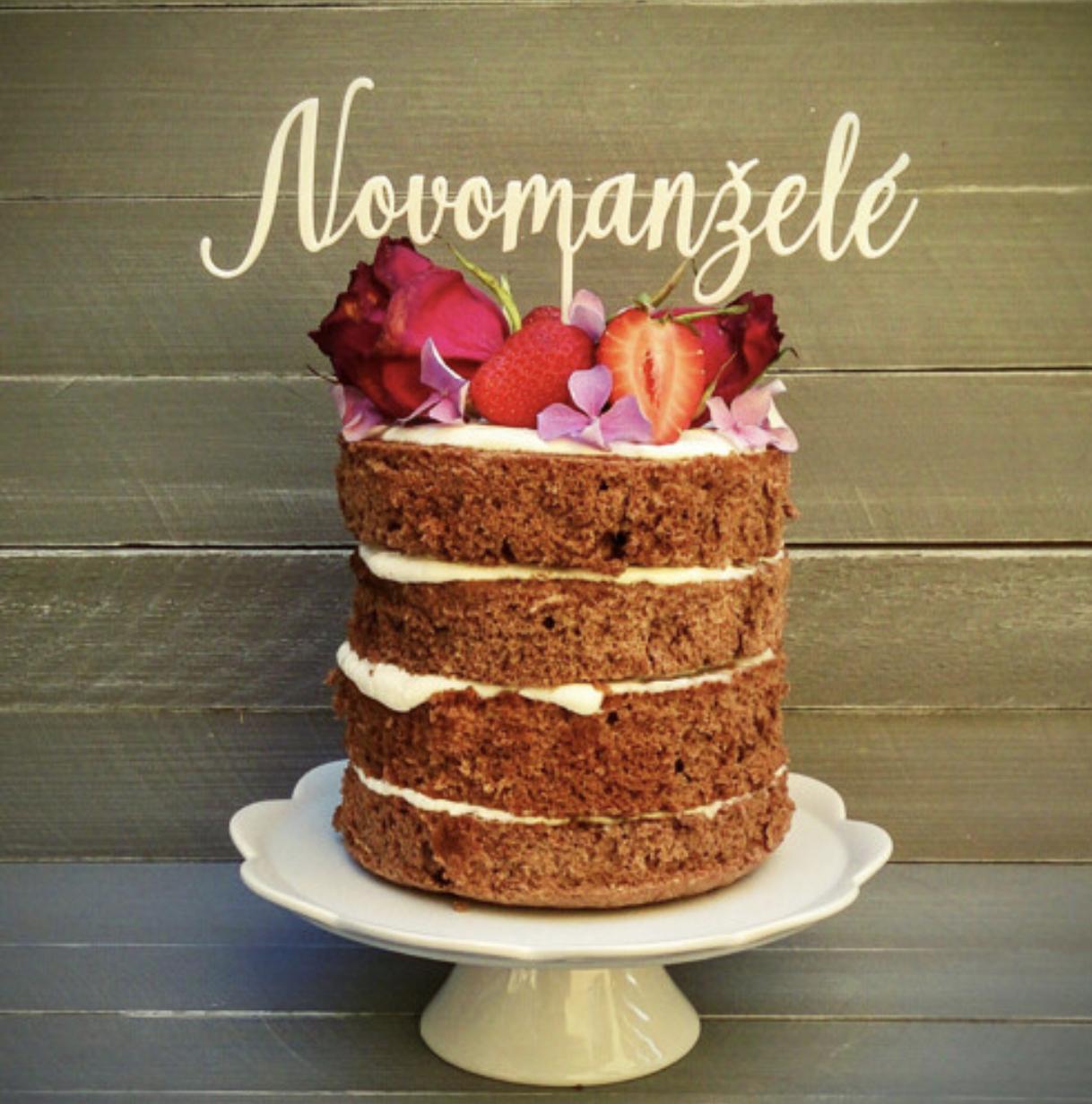 Zápich na dort a nápis na stůl - 10% SLEVA na celý nákup! - Obrázek č. 46