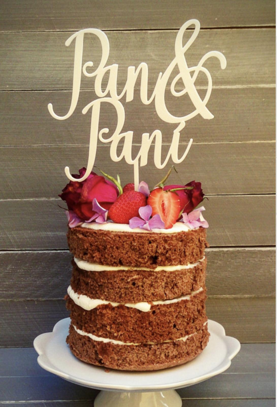 Zápich na dort a nápis na stůl - 10% SLEVA na celý nákup! - Obrázek č. 47
