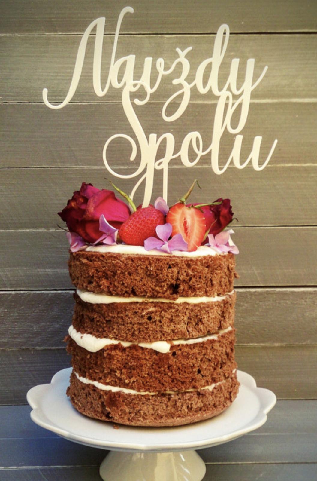 Zápich na dort a nápis na stůl - 10% SLEVA na celý nákup! - Obrázek č. 48