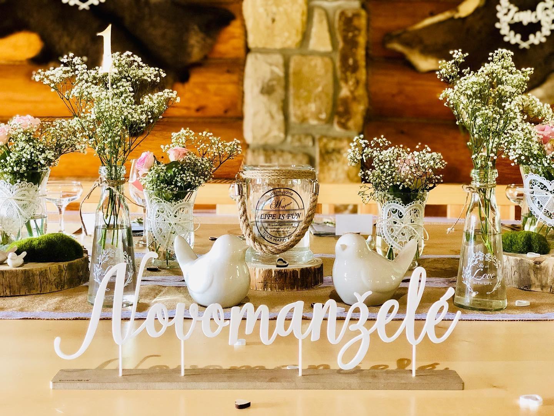 🎈Svatební dekorace 10% sleva na celý nákup!🎈 - Svatební doplňky s.r.o.