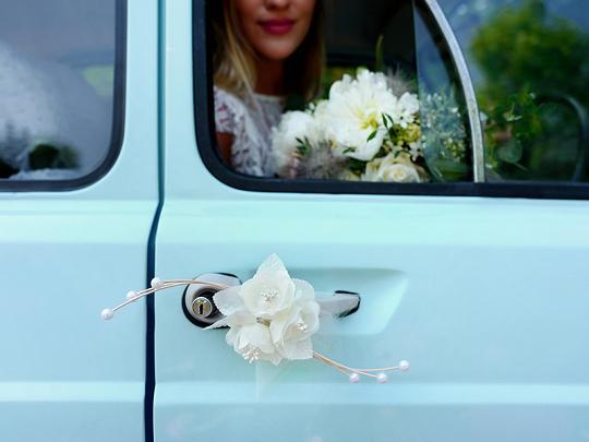 Svatební dekorace na auto - Obrázek č. 28