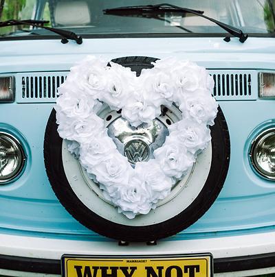 Svatební dekorace na auto - Obrázek č. 29