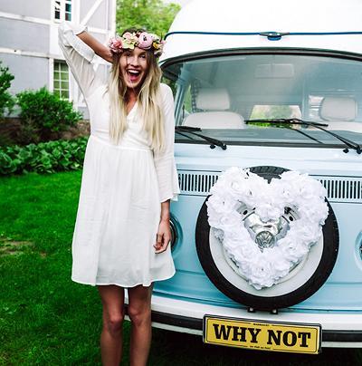 Svatební dekorace na auto - Obrázek č. 30