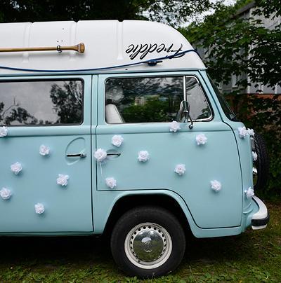 Svatební dekorace na auto - Obrázek č. 32
