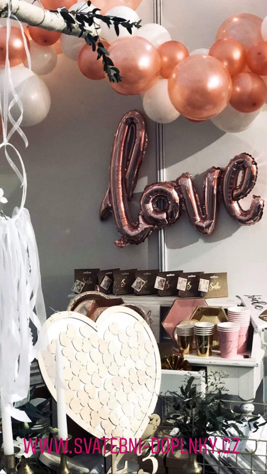 Svatební dekorace - DOPRAVNÉ ZDARMA! - Obrázek č. 86