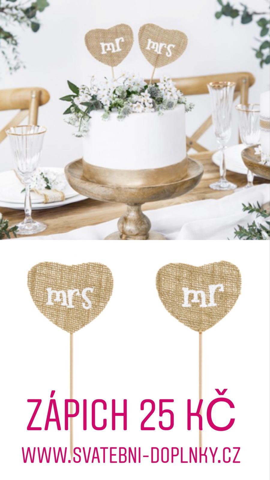 Svatební dekorace - DOPRAVNÉ ZDARMA! - Obrázek č. 89