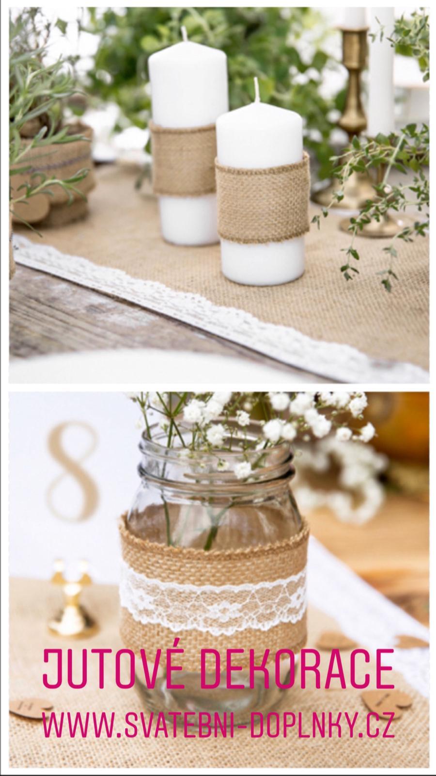 Svatební dekorace - DOPRAVNÉ ZDARMA! - Obrázek č. 90