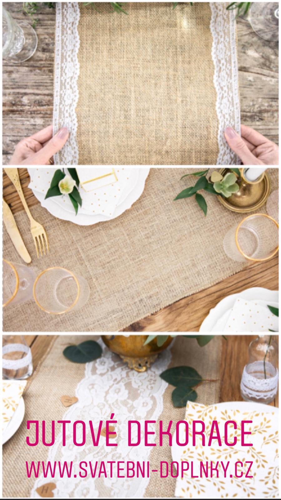 Svatební dekorace - DOPRAVNÉ ZDARMA! - Obrázek č. 91