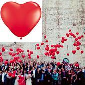 Balónky srdce,
