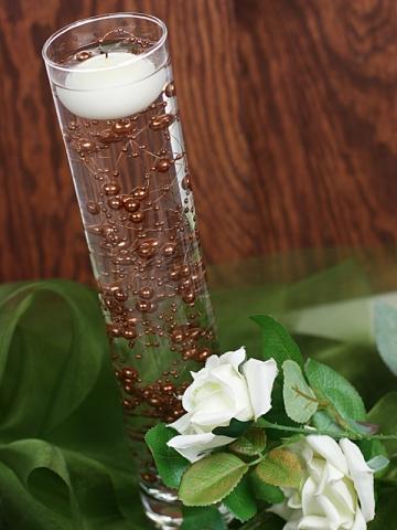 Perličky na silikonu hnědé - Obrázek č. 1