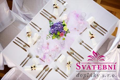 Aranžování svatební tabule - výzdoba na klíč - Obrázek č. 2