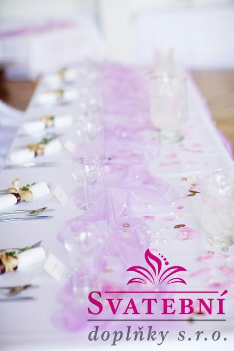 Aranžování svatební tabule - výzdoba na klíč - Obrázek č. 4
