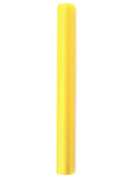 Organza 36 cm x 9 m žlutá - Obrázek č. 1