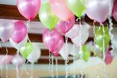 Balónek - více barev,
